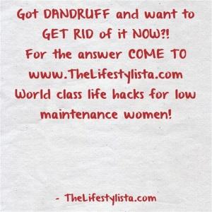 Got-DANDRUFF
